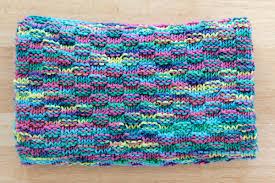 Easy Baby Blanket Knitting Patterns For Beginners Simple Simple Basketweave Baby Blanket