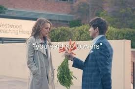 """You said no flowers... Adorably funny scene from the movie """"No ... via Relatably.com"""