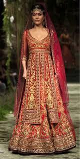 red color bridal lehenga ladyselection
