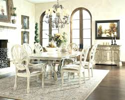 rustic white dining table. Wonderful Table Distressed White Dining Set Antique Pedestal Table Rustic   Intended Rustic White Dining Table