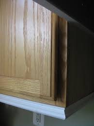 Trim Under Cabinets Remodelando La Casa Adding Moldings To Your Kitchen Cabinets