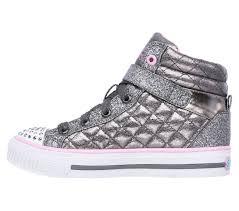 Skechers Kids Twinkle Toes Heart And Sole Light Up Sneaker Sweetheart Sole Sneakers Skechers Girls Shuffles Skechers