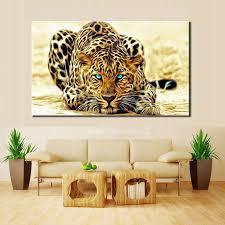 mordern leopard wall art in 2020