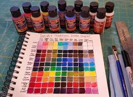 Artist Angela Anderson Shows How To Create A Color Mixing