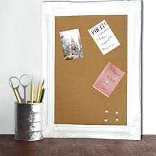 pin board for office. Breathtaking Modern Chic Framed Cork Pin Board Memo Notice For Home Office