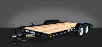 all trailers big tex trailers 60ch tandem axle car hauler