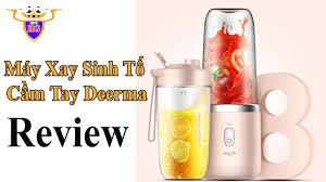 Review Máy Xay Sinh Tố Cầm Tay Xiaomi Deerma Mini