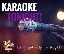 karaoke every night 9pm to 2am