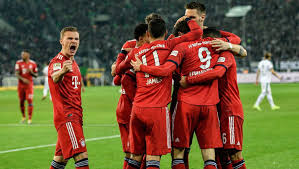 Live stream, tv schedule for german bundesliga. Monchengladbach 1 5 Bayern Munich Report Ratings Reaction As Die Roten Join Dortmund At The Top 90min