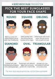 Glasses And Face Shape Chart How To Pick The Best Sunglasses For Your Face Shape