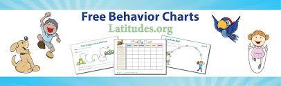 Free Printable Behavior Charts For Teachers If Then Behavior