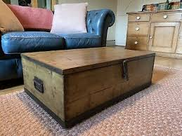 old pine chest wooden blanket trunk