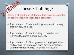 essay all there is to know about essays what is an essay o  thesis challenge create a strong thesis statement that could be used for an essay containing these