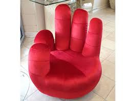 modern funky furniture. hand shaped chair red modern furniture and lighting funky i