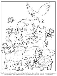 Kindness Coloring Pages Printable Kindness Coloring Page Kindness