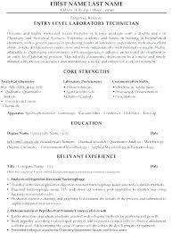 Dental Lab Technician Resumes Sample Lab Technician Resume Resume Creator Simple Source