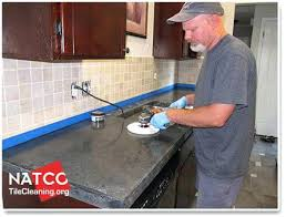 what type of cement to use for concrete countertops buffing concrete
