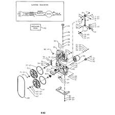 delta model bs100 saw band genuine parts doall band saw wiring diagram Band Saw Wiring Diagrams #25