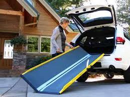 handicap ramps for minivans. lightest suitcase gf portable handicapped ramps for loading scooters into minivans. handicap minivans
