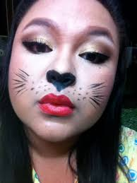 rabbit face makeup makeup collaboration y cat theme