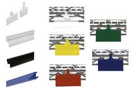 wire basket label holders