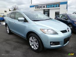 2007 Icy Blue Metallic Mazda CX-7 Grand Touring #78940250 ...