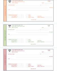 Receipt Layout Payment Receipt Template 5 Quick Receipt Maker Formats