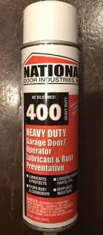 garage door lube400hd National Door Lube 15oz Aerosol orange  eBay
