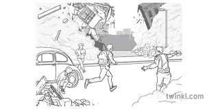 Here you can explore hq earthquake drawing transparent illustrations, icons and clipart with filter setting like size, type. During An Earthquake Black And White Illustration Twinkl