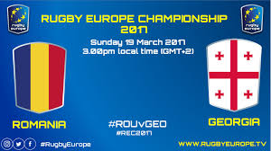 Follow the international friendlies live football match between romania and georgia with eurosport. Romania Georgia Rugby Europe Championship 2017 Video Dailymotion