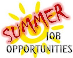Summer Jobs Summer Jobs Firstyearsuccess