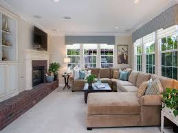 pillows for fireplace hearth family room traditional with built in shelves throw pillows corner sofa