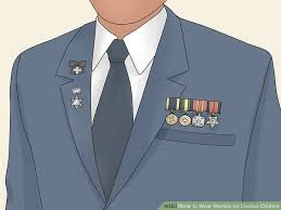 3 Ways To Wear Medals On Civilian Clothes Wikihow