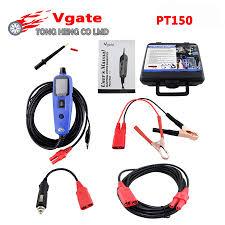 12v power probe super automotive car circuit tester kzyee km10 100% original vgate pt150 electrical system diagnostic circuit tester tool power probe tester vgate powerscan