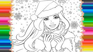Small Picture Barbie Princess Coloring Pages l Coloring Book Barbie Video For