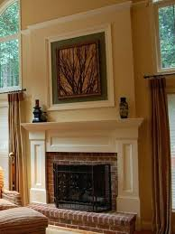 brick cover delightful how to cover a brick fireplace with drywall built out and trim that lines up covering brick porch with wood brick coverage