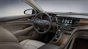 2018 buick lacrosse in light neutral leather interior with dark brown accents hy4