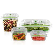 The New Foodsaver Fresh Container 4 Piece Set