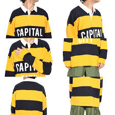 all three colors of rugby shirt men long sleeves horizontal stripe new work polo shirts horizontal