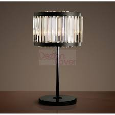 rh welles crystal table lamp