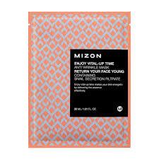 Тканевая <b>маска Mizon Enjoy Vital</b>-Up Time Anti Wrinkle Mask ...