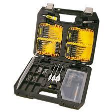 dewalt metal drill bit set. dewalt dt9296 90 piece masonry / metal drilling \u0026 screwdriving set dewalt drill bit