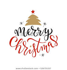 merry christmas and happy holidays clip art. Exellent And Merry Christmas For Happy Holidays Greeting Card With Tree  SnowflakesLettering Celebration Logo Set Intended And Holidays Clip Art P