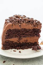 The Best Triple Chocolate Layer Cake Averie Cooks
