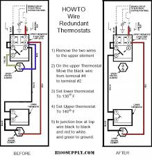 water heater thermostat wiring diagram water wiring diagrams how to wire water heater thermostat wiring diagram