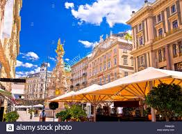 Historic Café Vienna Wien Austria Europe Stock Photos Historic