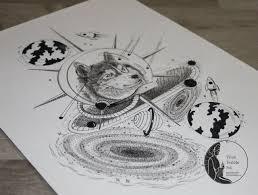 эскизы тату татуировки космос волк что нарисовать татуировки