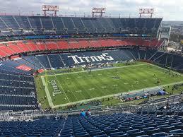 Nissan Stadium Section 340 Tennessee Titans