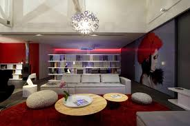 the lighting loft. View In Gallery Fashionable French Loft With Open Interiors And Colorful Lighting 2 Thumb 630x420 28685 The