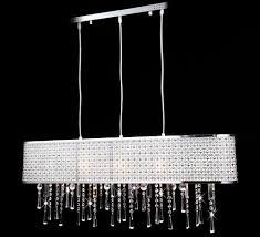 Kronleuchter Esstisch Glas Kristall Deckenleuchte Lüster